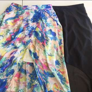 Both Skirts for $15