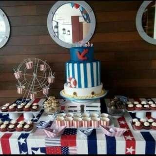 Customized Cakes Dessert Buffet, Wedding Cake, Theme Cake