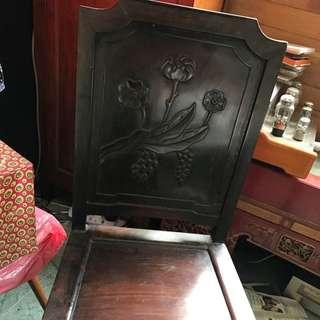 Antique Blackwood Chair