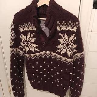 Men's Hand Knit Abercrombie Sweater