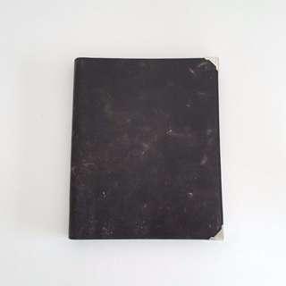 Alexander Wang Prisma Ipad Case Distressed Black (Skeletal)