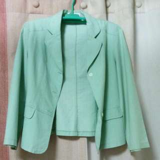 Laviola Apple Green Blazer
