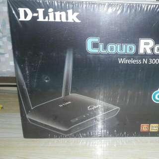 D-Link Cloud Router Wireless N300 DIR-605L