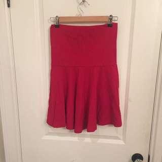 American Apparel Fold Over Skirt