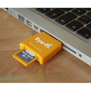 Eye-Fi 16GB Pro X2 SDHC SD Memory Card Wireless Class 10