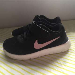 Boys (or Girls) Black Nikes