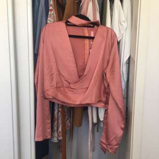 Blossom Brand Pink Top