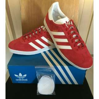 Adidas originals Gazelle red 紅色 US 11.5