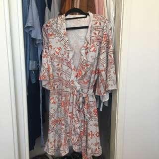 Mooloola Size 12 Wrap Dress