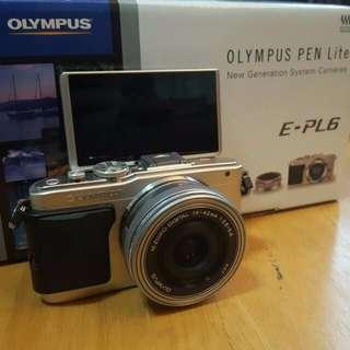 Olympus pen lite epl 6 camera