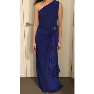 Royal Blue Ball Dress (Long)