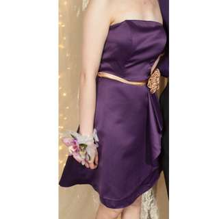 Purple Ball Dress (Short)