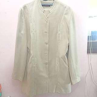 Baju Kerja Cream Setelan Celana