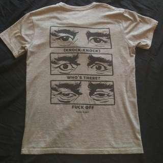Pass Port 'Knock Knock' Tee Shirt