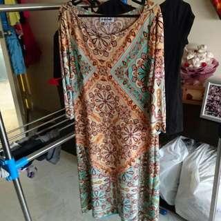 A Flowy Bohemian Style Dress