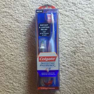 Colgate Sensitive Pro Relief Pen And Toothbrush