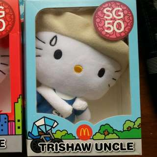 Limited Edition SG50 Hello Kitty Plushies