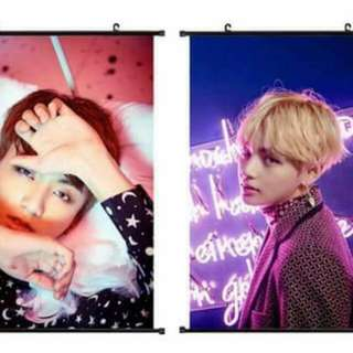 BTS Hanging Posters (Unofficial)