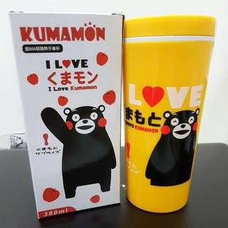 熊本熊 Kumamon 萌熊 / 隔熱 手拿杯 隨行杯 杯子