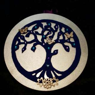 Beautiful tree Of Life Wall Hanging. New Made By Me. 💜