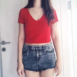 ✨ H&M ✨ | Cropped Top