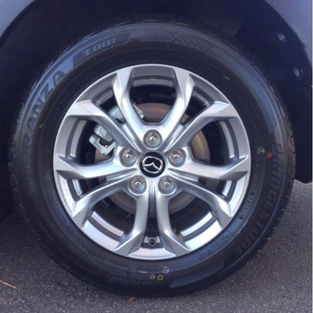 "16"" Alloy Wheels + Tyres"