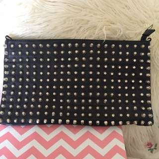 Oversized Purse With Studs