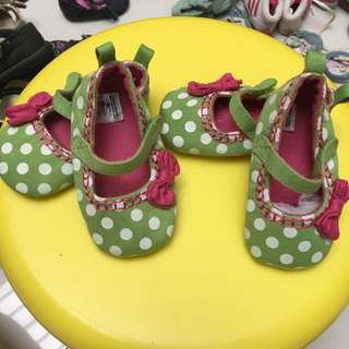 A59/A60: NEXT Baby Polka Shoes ( 2 Pairs Available)