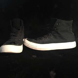 CONVERSE Black Hi-Top Sneakers