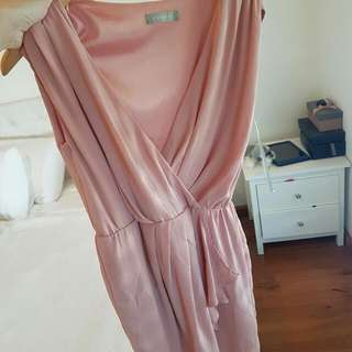Salmon/ Peach Coloured Forecast dress  Only worn once