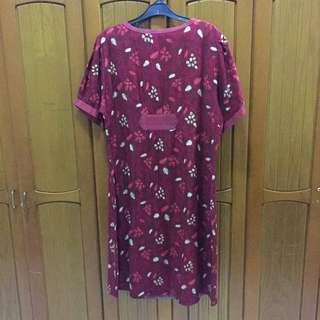 Batik Dress Big Size (fit to XXL)