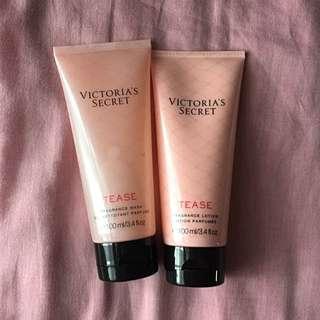 Victoria's Secret Tease Lotion & Wash Gel