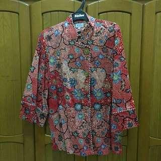 Riana Kesuma Batik Top (fit to XL)