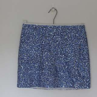 Topshop sequin skirt