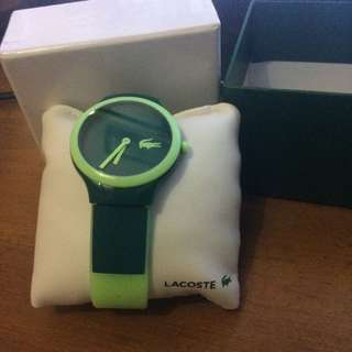 Lacoste Watch Green Original