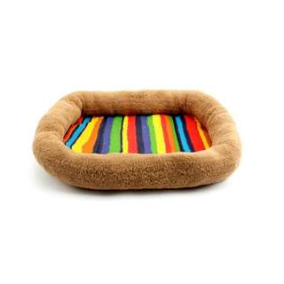 【寵物商品】活力七彩條寵物床墊