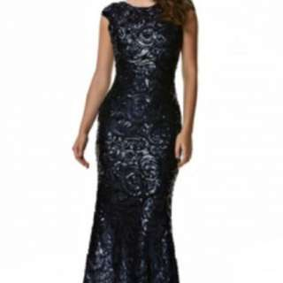 Swish Dress Floor Length