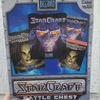 Starcraft Battle Chest *Collectors Item