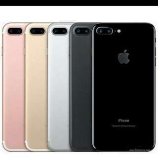 Brand new IPhone 7+ (your choice of color)