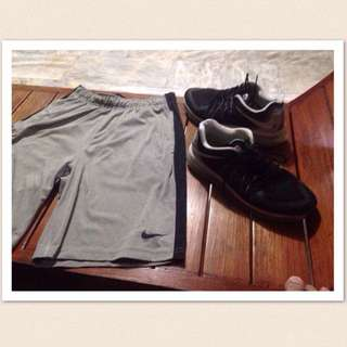Authentic Nike Shorts And Class A 2015 Airmax Shoes