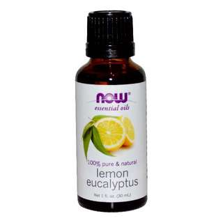 Now Foods 檸檬尤加利香薰精油,1 盎司(30毫升)