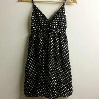 Pokka Dotted Summer Dress (Adjustable Straps)