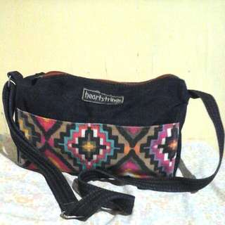 Heartstrings Aztec Sling Bag