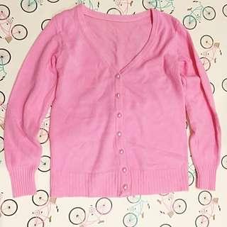 Pink classic Cardigan