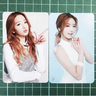 Apink Bomi Pink Blossom Photocard