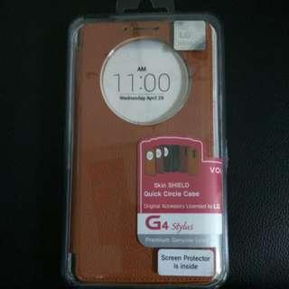 LG G4 Stylus 原廠視窗型皮套