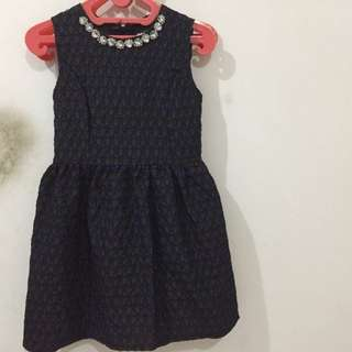 dress dot blue