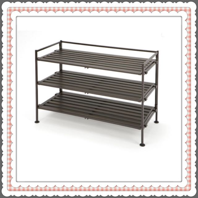 3 Tier Storage + Shoe Rack