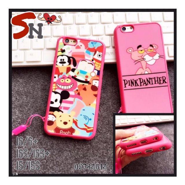 粉色系軟邊手機殼