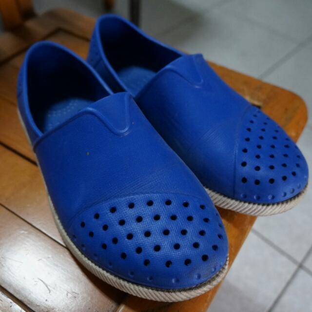 寶藍色雨鞋 41號